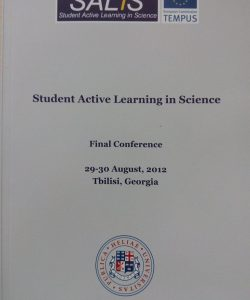 STUDENT ACTIVE LEARNING IN SCIENCE